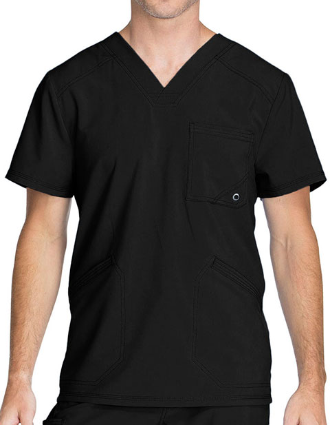 Cherokee Infinity Men's V-Neck Scrub Top