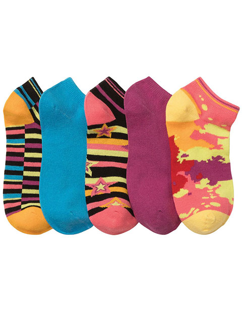 Cherokee Women No Show 5 Pack Socks