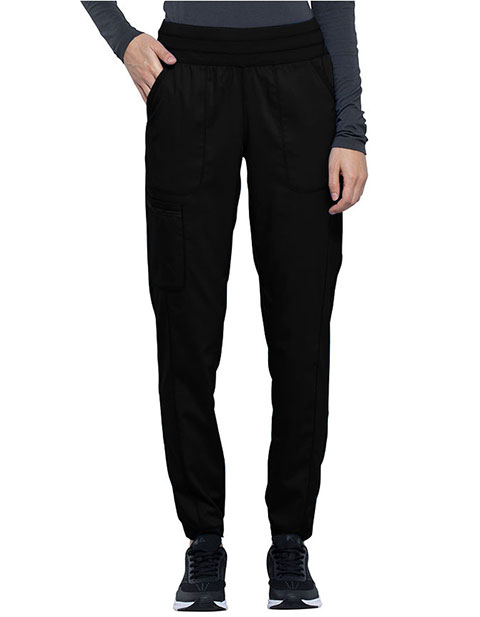 Cherokee Workwear Revolution Women's Natural Rise Tapered Leg Jogger Pant