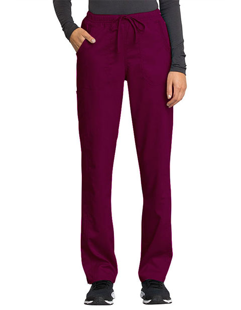 Cherokee Workwear Revolution Tech Women's Drawstring Petite Pant