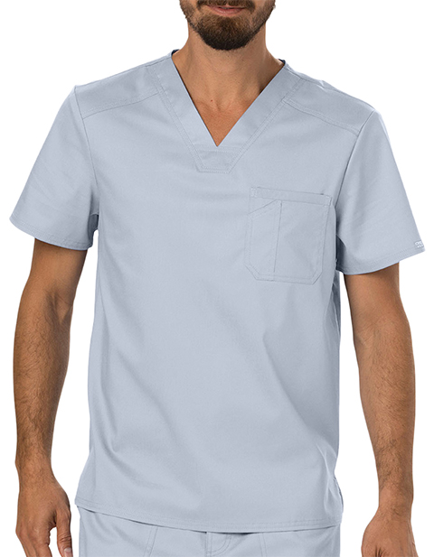 Cherokee Workwear Revolution Men's V-Neck Top