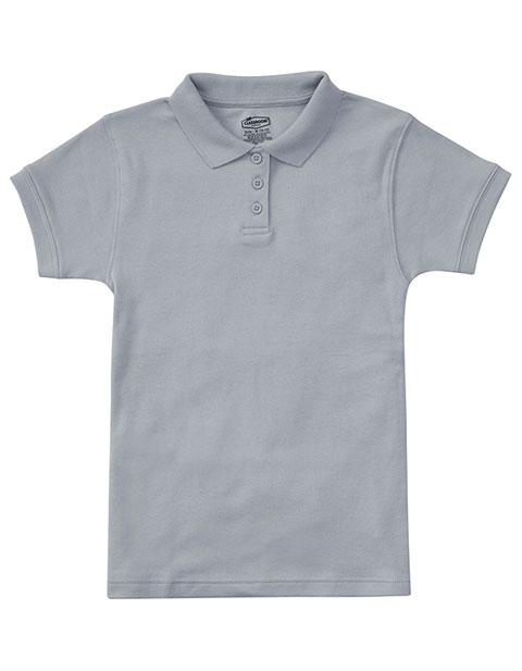 Jrs Short Sleeve Fitted Interlock Polo