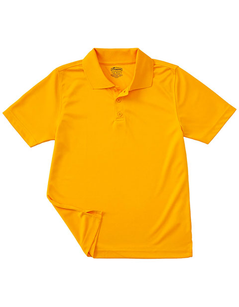 Classroom Youth Unisex Moisture Wicking Polo