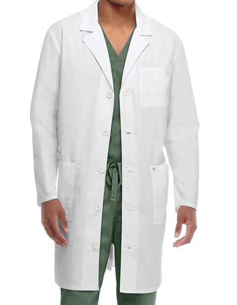 Code Happy Bliss w/Certainty Plus Unisex Long Lab Coat
