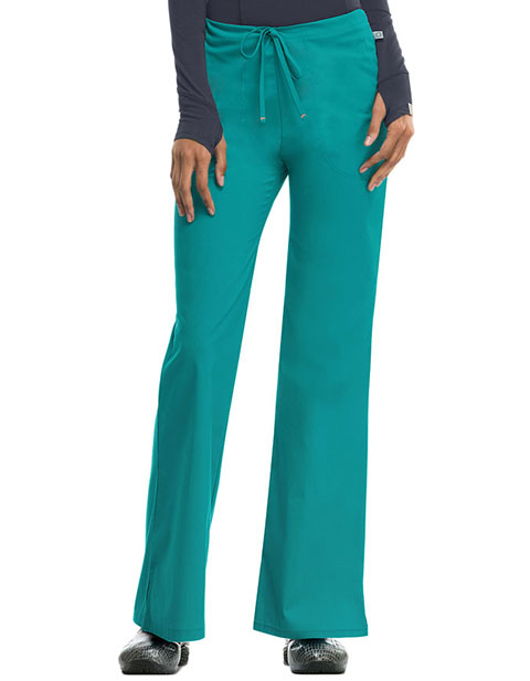 Code Happy Antimicrobial Women's Mid-rise Drawstring Pant