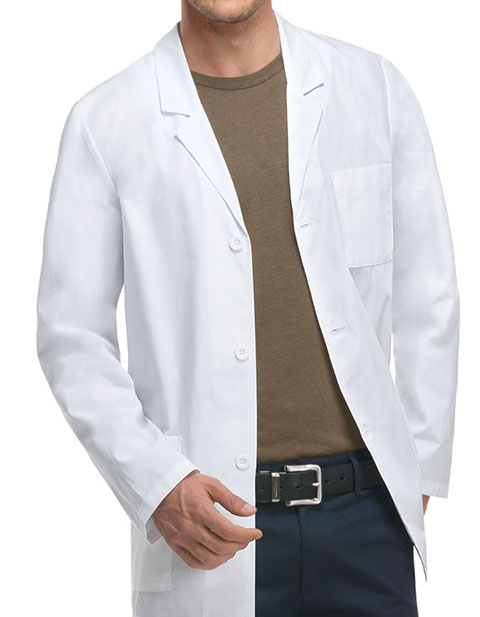 Dickies EDS Professional Whites With Men's 31 Inches Lab Coat