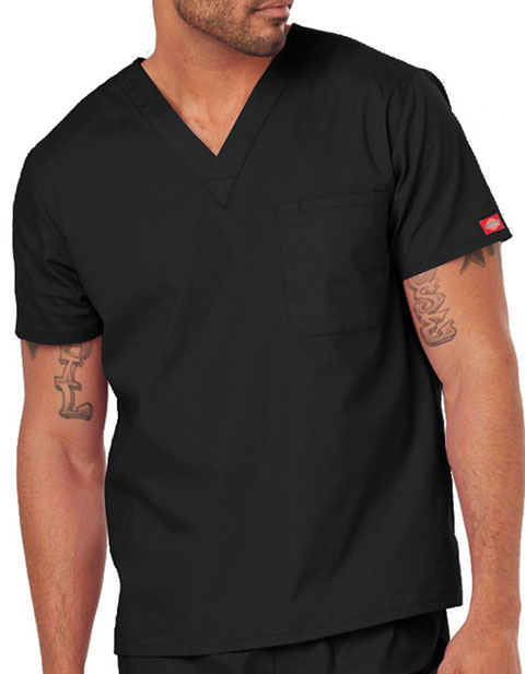 4292f3161c9 Dickies 83706 EDS Signature Unisex V-neck Nursing Scrub Top for ...