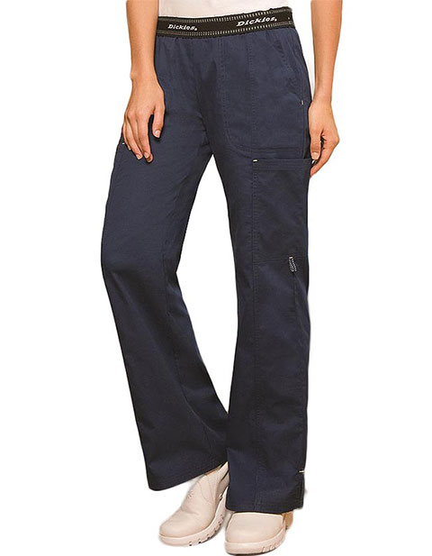 Dickies Enzyme Washed Missy Fit Straight Leg Medical Scrub Pants