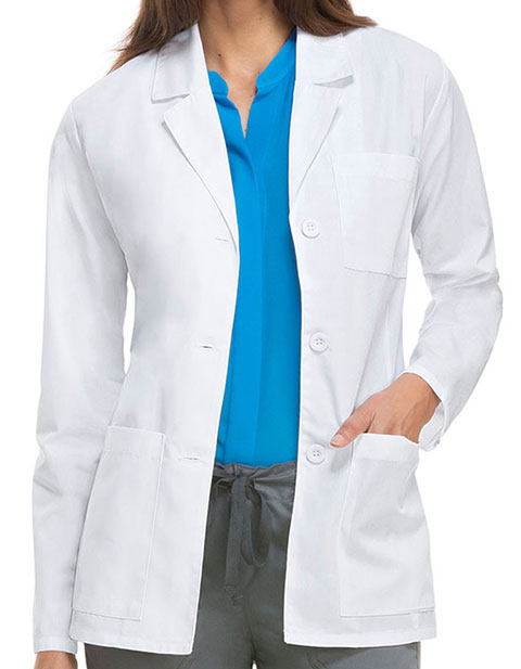 Dickies EDS Missy Fit 28 Inches Three Pocket Lab Coat