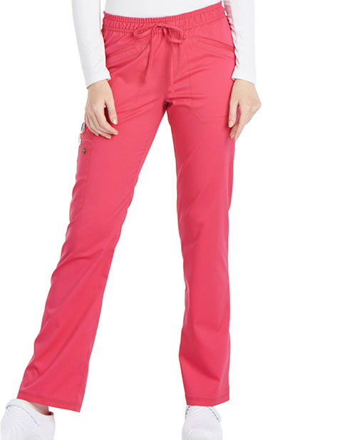 Dickies Essence Women's Mid Rise Straight Leg Petite Pant