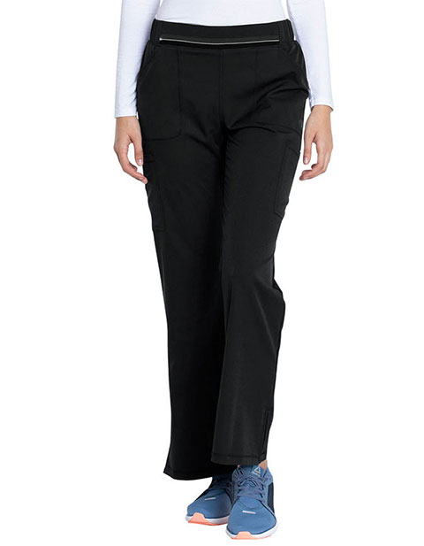 Dickies Dynamix Women's Mid Rise Moderate Flare Leg Pull-on Pant