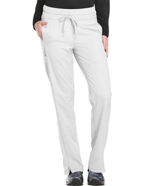 Dickies Dynamix Women's Mid Rise Straight Leg Drawstring Tall Pant