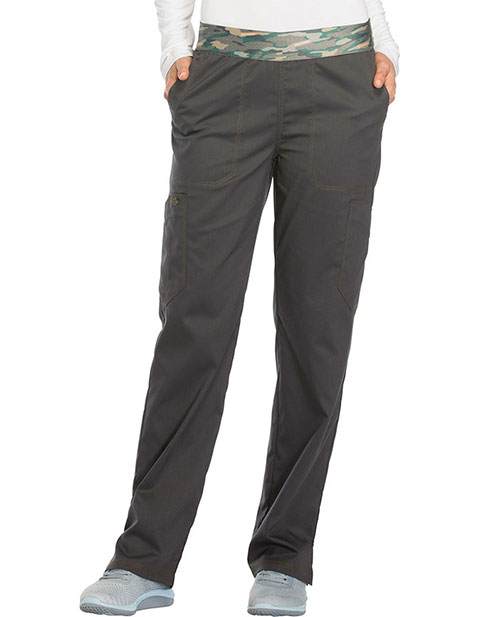 Dickies Essence Women's Mid Rise Tapered Leg Pull-on Tall Pant