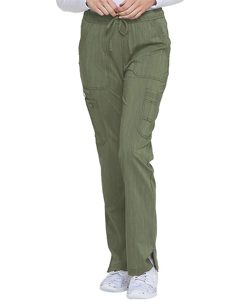 Dickies Advance Women's Mid Rise Boot Cut Drawstring Tall Pant