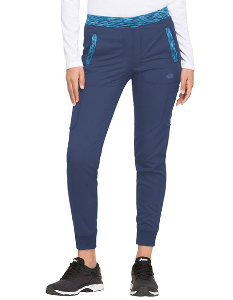 Dickies Dynamix Women's Natural Rise Tapered Leg Petite Jogger Pant