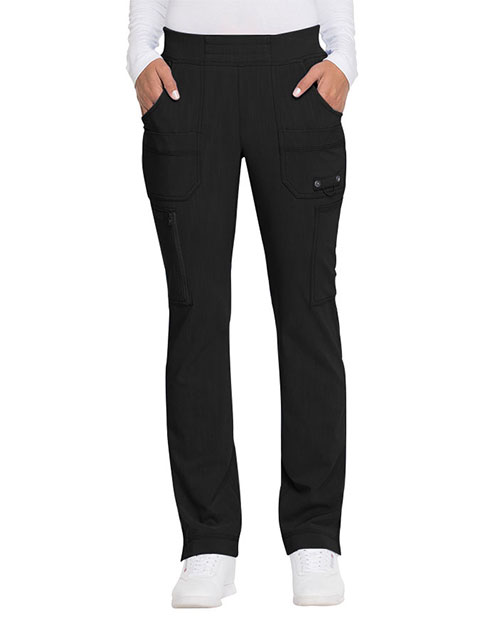 Dickies Advance Women's Mid Rise Tapered Leg Pull-on Tall Pant