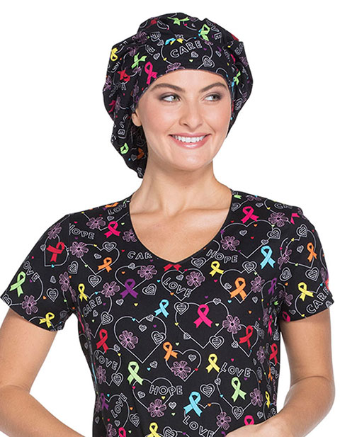 Dickies Prints Unisex Bouffant Scrub Hat