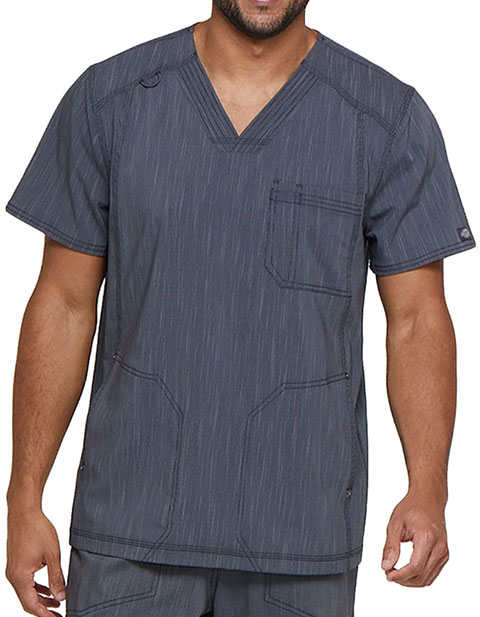 Dickies Advance Men's V-Neck 3 Pocket Top