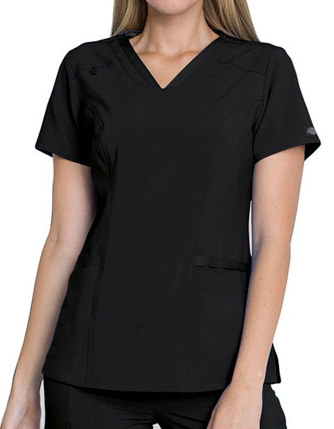 Dickies EDS Essentials Women's V-Neck Scrub Top