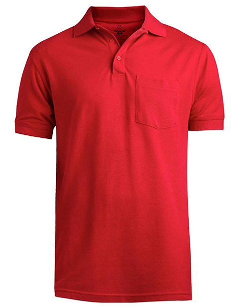 Soft Touch Short Sleeve Pique Polo With Pocket