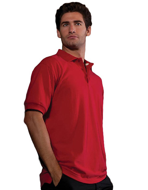 Men's Short Sleeve All Cotton Pique Polo