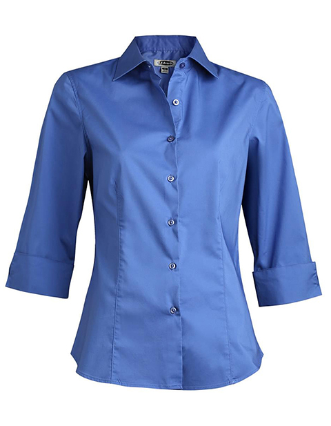 Women's Tailored 3/4 Sleeve Stretch Blouse