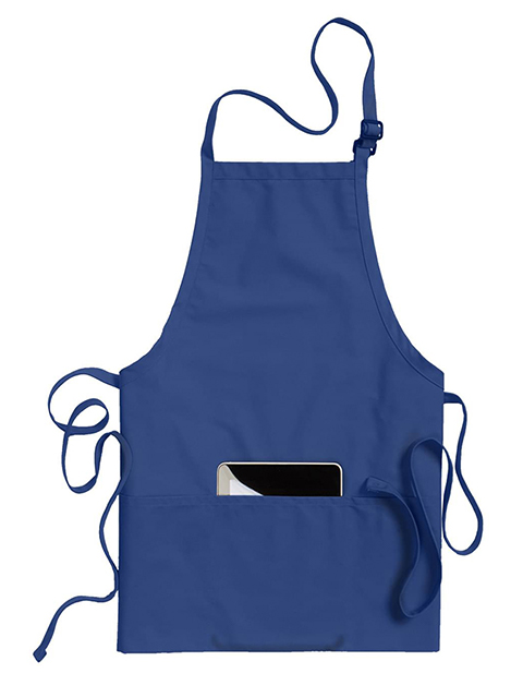 Bib Apron With Pockets