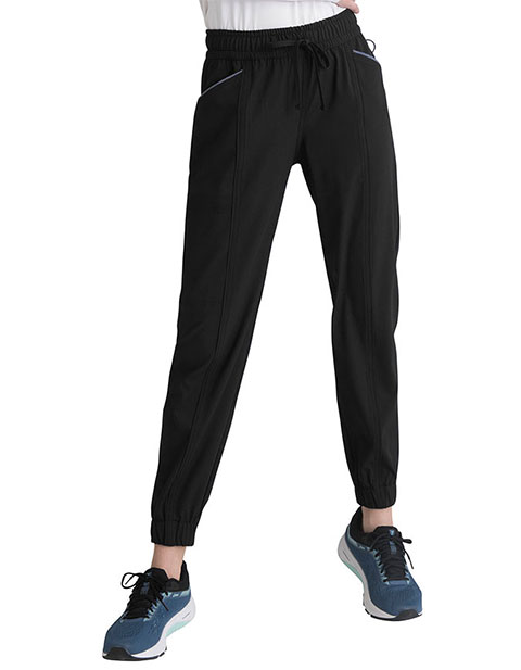 Elle Simply Polished Women's Mid Rise Jogger Pant