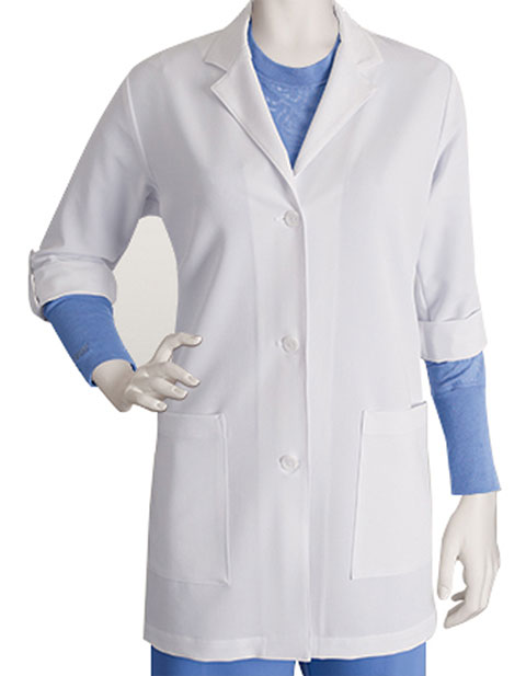 Greys Signature Women's 31 Inches Two Pocket Three Quarter Lab Coat