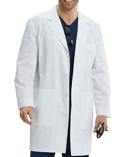 Greys Anatomy Spandex Stretch Men's Liam Consultation Lab Coat