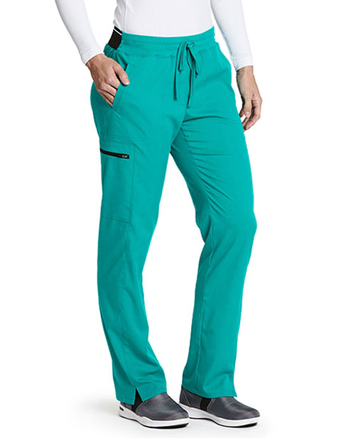 Greys Anatomy Women's Drawstring Cargo Tall Scrub Pant