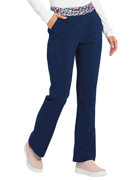 HeartSoul Love Always Women's Natural Rise Moderate Flare Petite Pant