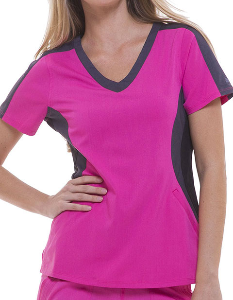 Healing Hands Purple Label Women's Jewel Scrub Top