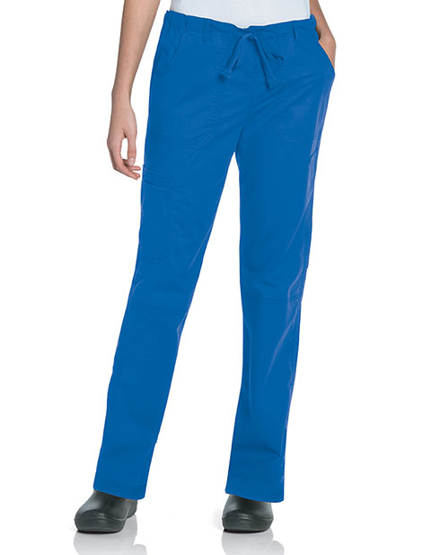 Landau Pre-Washed Women's CVC Straight Leg Cargo Tall Pant