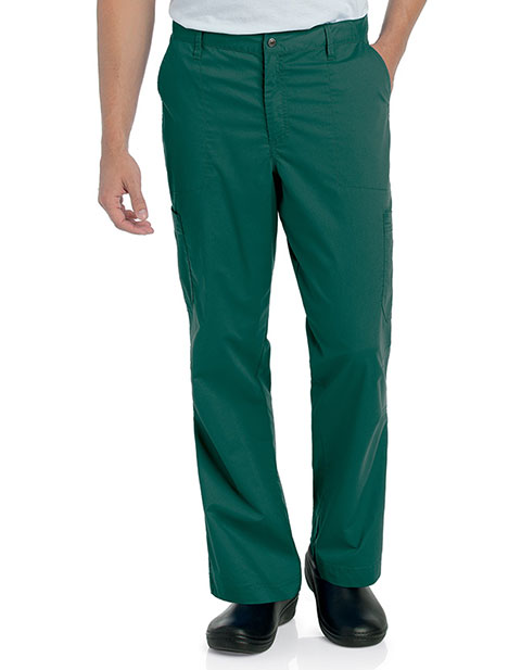 Landau Pre-Washed Men's Elastic Waist Cargo Pants