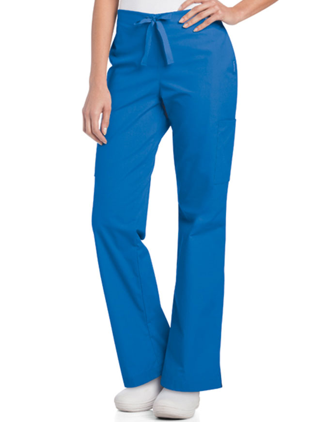 Landau Women's Side Vents Petite Scrub Pant
