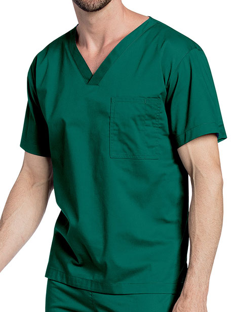 Landau All Day Unisex V-Neck Scrub Top