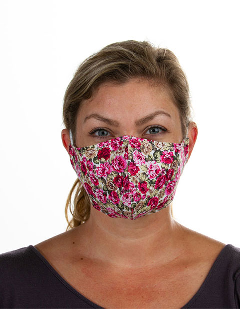 Landau Unisex's fabric mask pack
