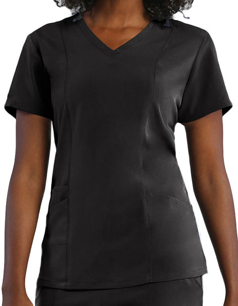 Maevn Pure Women's 3-Panels V-Neck Top