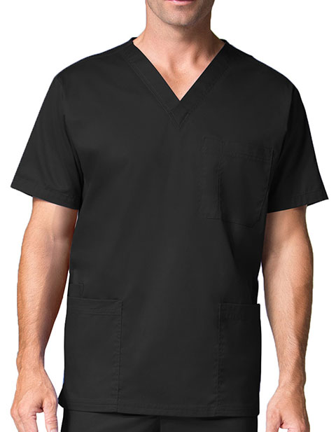 Maevn Men's Three Pocket V-neck Top