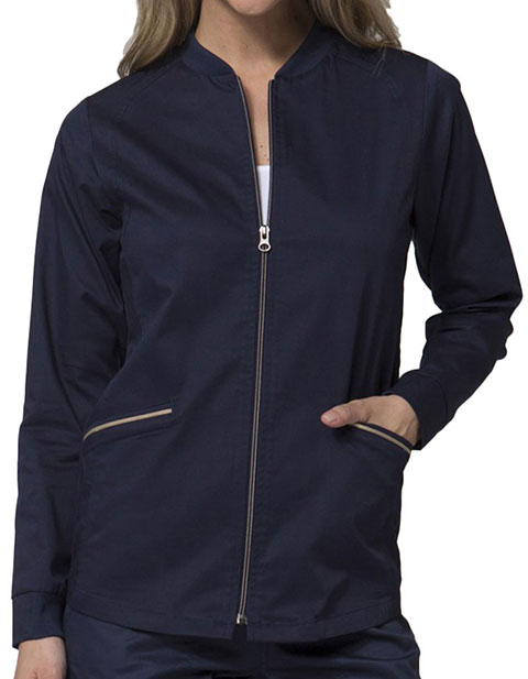 Maevn PrimaFlex Women's Two Tone Zip Jacket