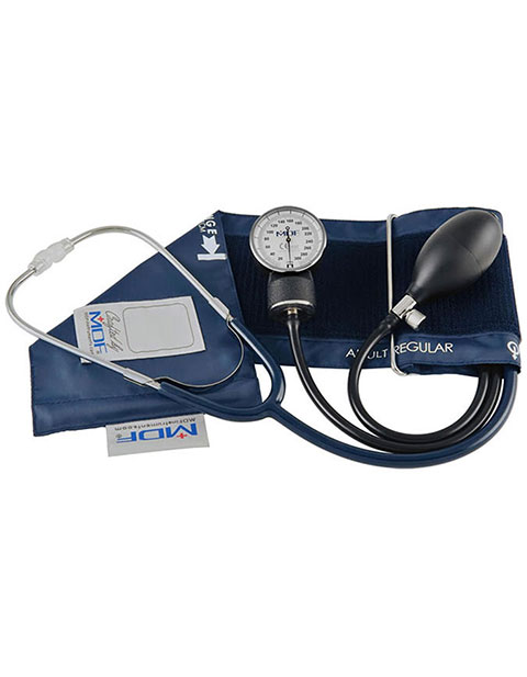 MDF Calibra Pro Aneroid Sphygmomanometer and Stethoscope