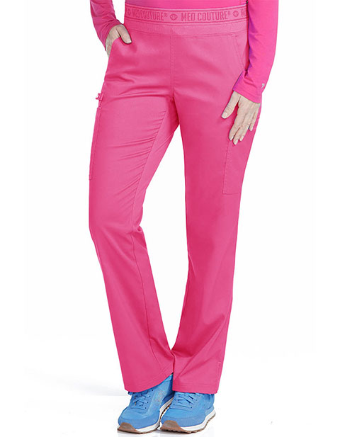 Med Couture Women's Yoga 2 Cargo Pocket Petite Pant