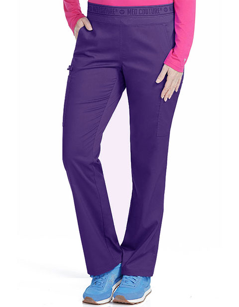 Med Couture Women's Yoga 2 Cargo Pocket Tall Pant