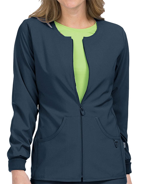 Med Couture Activate Women's Zip Front Warm Up