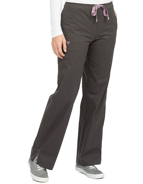 Med Couture Signature Women's Drawstring Tall Pant