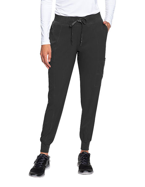 Med Couture Peaches Women's Seamed Jogger Scrub Pant