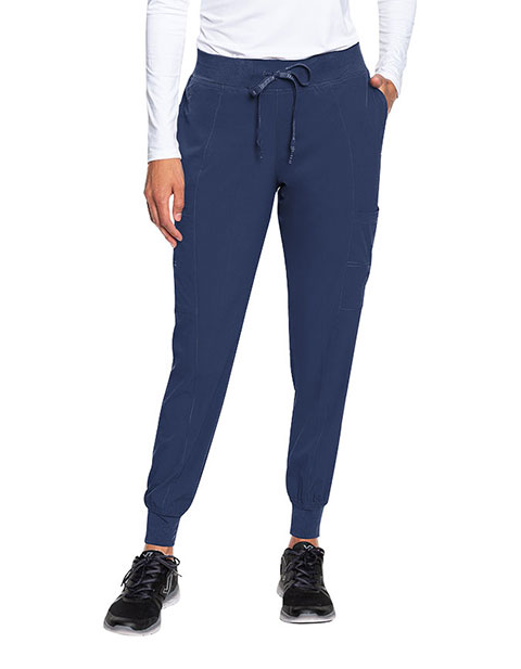 Med Couture Peaches Women's Seamed Jogger Scrub Tall Pant