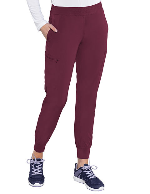 Med Couture Energy Women's Smocked Waist Jogger Scrub Pant