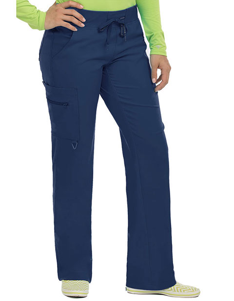 Med Couture Activate Women's Yoga 1 Cargo Pocket Petite Pant